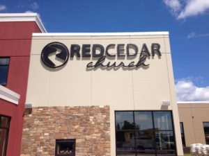 lighted aluminum letters