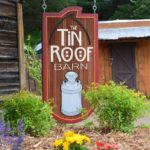 sandblasted barn sign